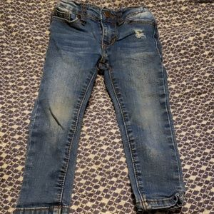 Joe's Jean's skinny stretch denim toddler jeans